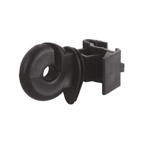 Klipsňový prstencový izolátor čierný
