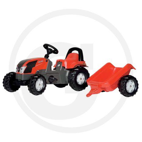 Šliapací traktor s prívesom ROLLY TOYS kid Valtra