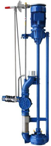 Vertikálne čerpadlo s podlahovou konštrukciou VMU 1541 - 1,5 M