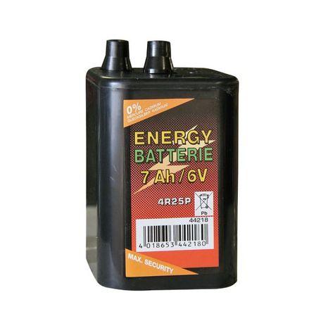 Zinkovo – uhlíkové suché batérie 6V, 7AH